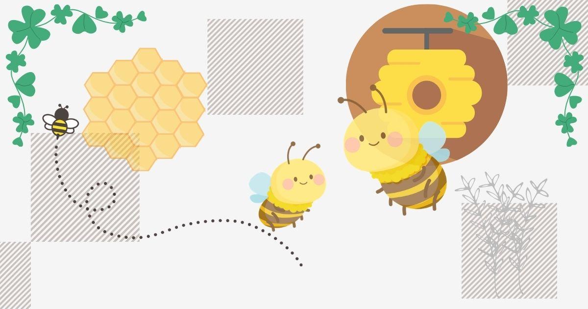 蜂が巣を作る家 風水