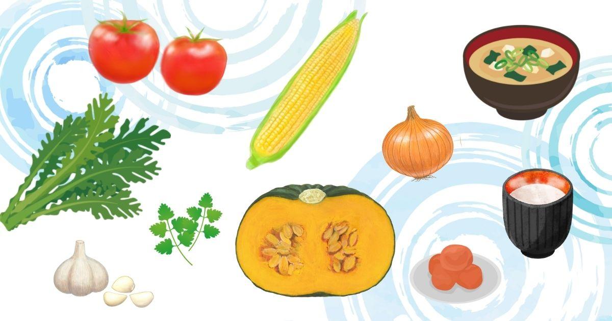 五行説でわかるおすすめの食べ物